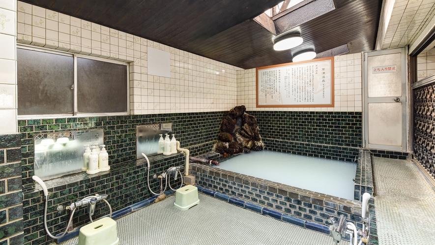 *お風呂広々使えてのんびり♪(男湯)