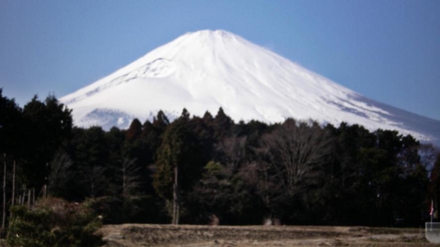 *晴れた日には、富士山の美しい眺めをお楽しみ頂けます。