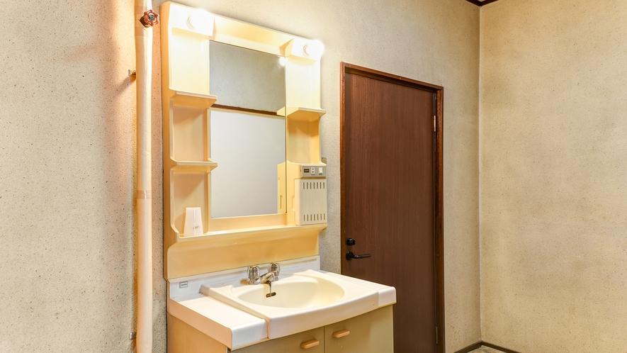 *【和室10畳】洗面台/清潔感のある独立洗面台です。