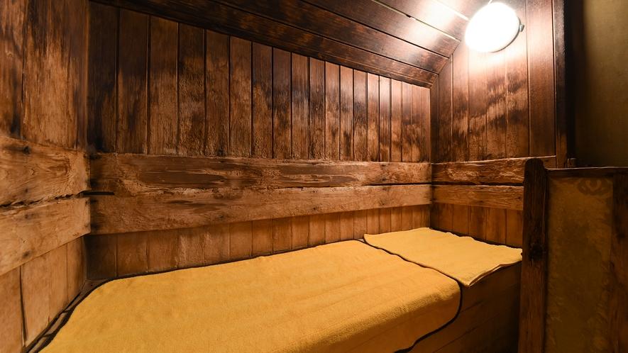 *男女、両方の浴場にサウナ完備!サウナでじっくり汗をかいて1日の疲れを癒してください♪