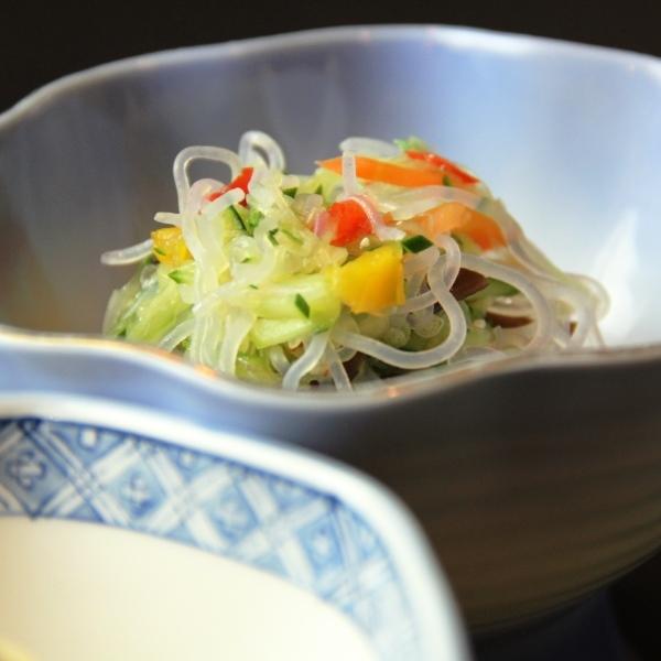 料理-春雨サラダ