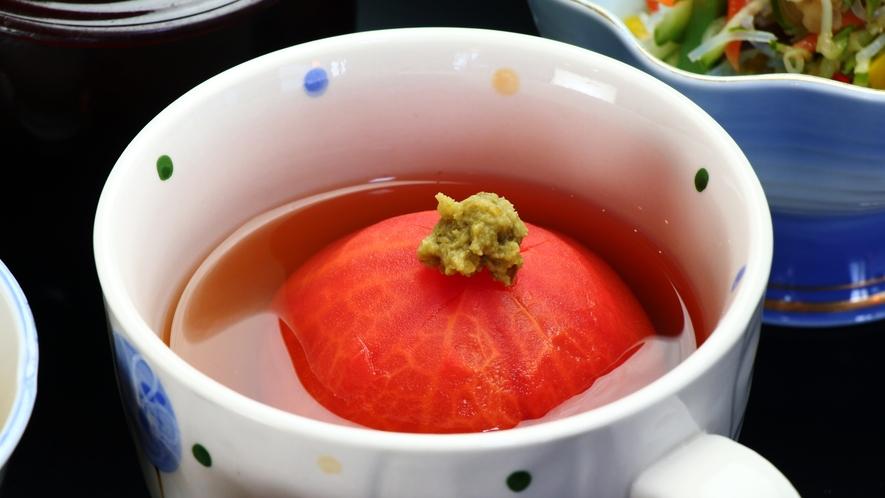 ★丸ごとトマトの煮物
