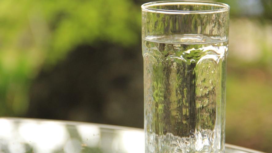 ★お料理などの水はすべて還元水を使用