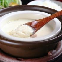 朝食自家製豆腐