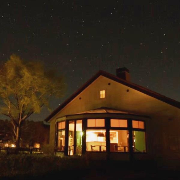 清里高原の美しい夜景