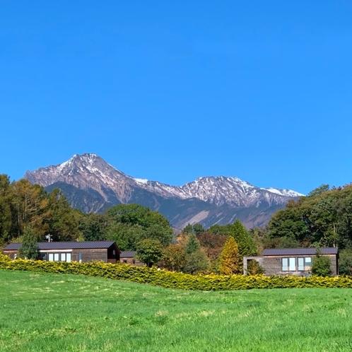 雄大な八ヶ岳の風景