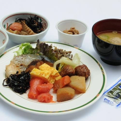 和朝食バイキングだからお好きなモノをお好みの量で♪