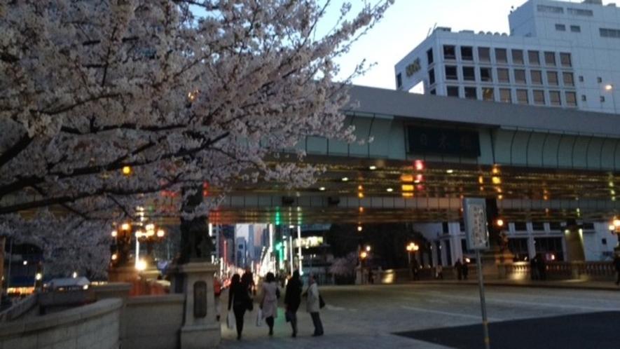 日本橋(春)