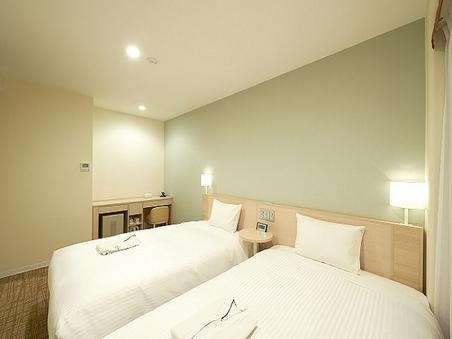 【禁煙】コンフォートツイン(本館)18平米/ベッド幅120