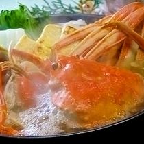 料理イメージ:カニすき鍋