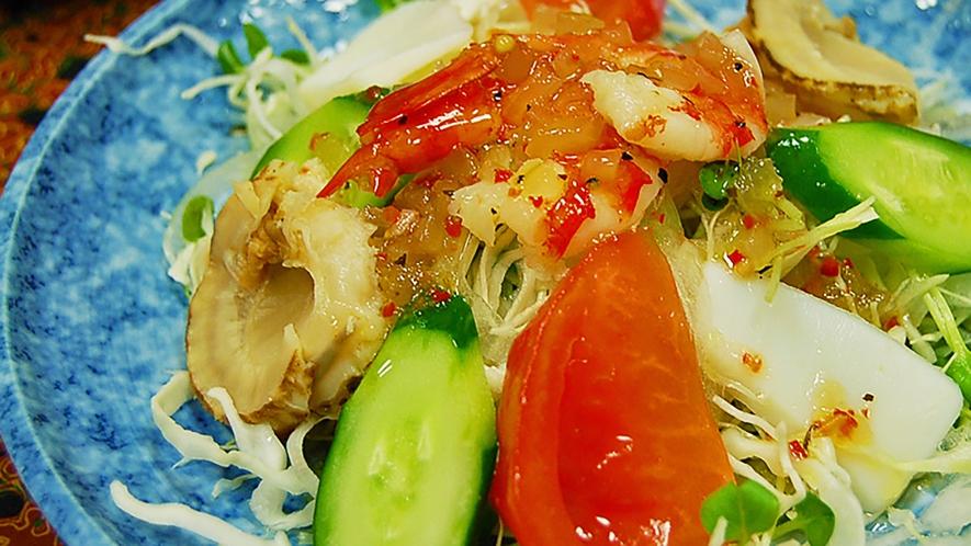 *【ご夕食一例】海鮮サラダ