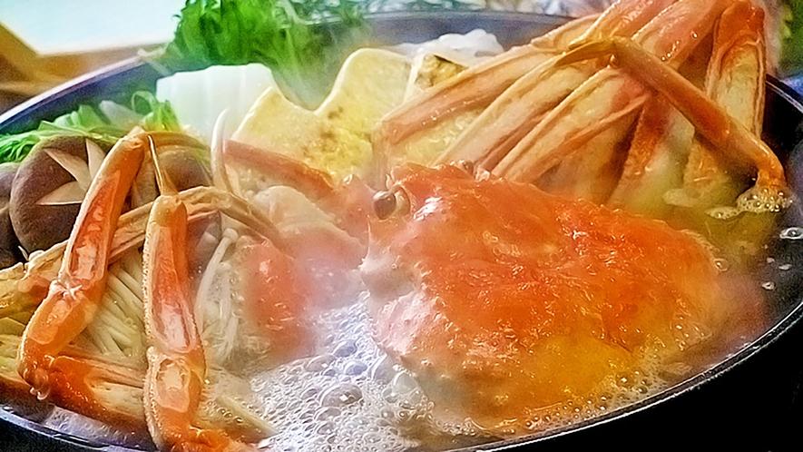 *料理イメージ:カニすき鍋
