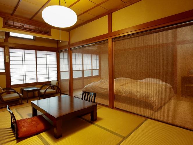 7.5畳和室+ベッドルーム7.5畳◇トイレ洗面付