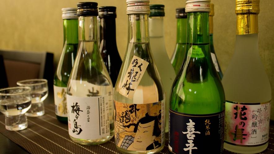 静岡の地酒各種