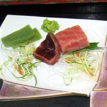 *【夕食一例】海に面している静岡ならではの新鮮味覚をお楽しみください!