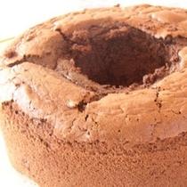 チョコレート*シフォンケーキ
