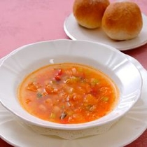 本日のスープ(ミネストローネ)