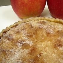 焼きたてあっつあつのリンゴパイ