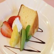 ニューサマーオレンジのシフォンケーキ