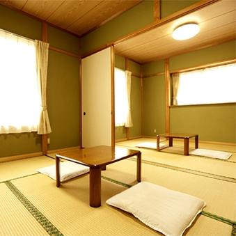 2階和室12畳◆2間に仕切れる便利なお部屋♪