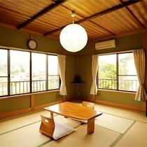 【客室】10畳角部屋