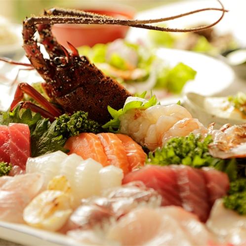【食事】季節のお料理一例 伊勢エビ付