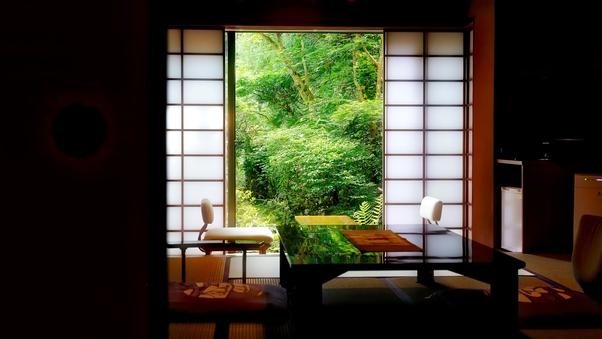 庭園側和室 ‐和庭園臨む10畳または8畳‐