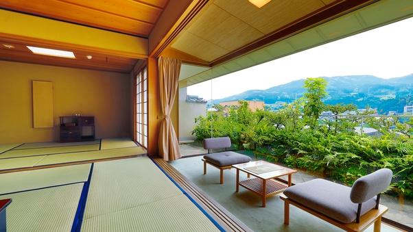 スウィート東館 檜内風呂付 ‐2間客室(10畳+6畳)‐