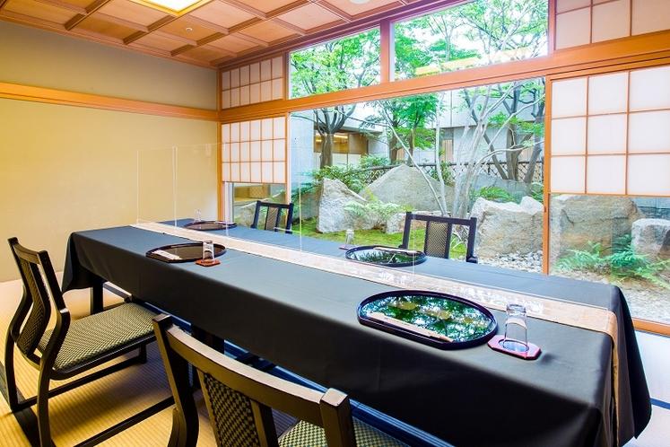 個室夕食会場【和室(椅子&テーブル)】