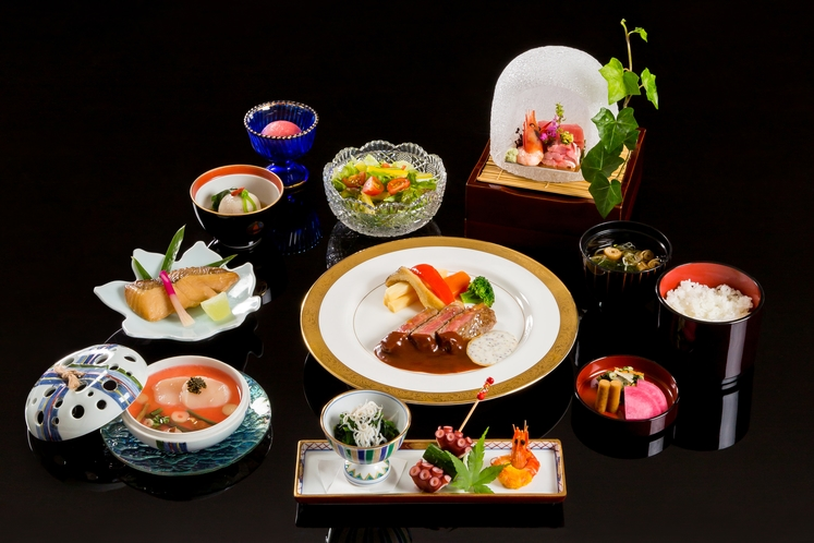 夕食【和洋懐石料理】