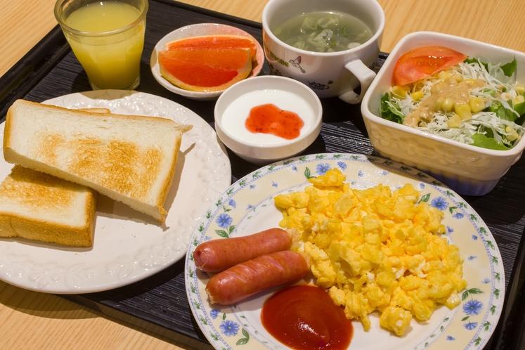 朝食(洋食)