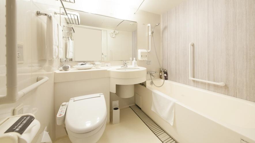バリアフリーツインルーム 浴室