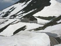 冬の乗鞍スカイライン