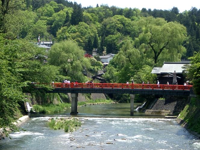 飛騨高山 中橋