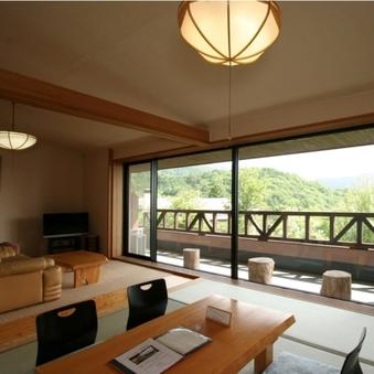【特別室】大きな窓から木曽のパノラマを独占!(禁煙)