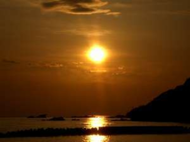 〜宿から見た日の出〜