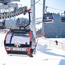 *石打スキー場/世界最新設備のゴンドラ