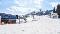 *石打スキー場/サンライズライン一例