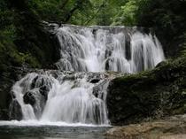 仙北沢の二段滝