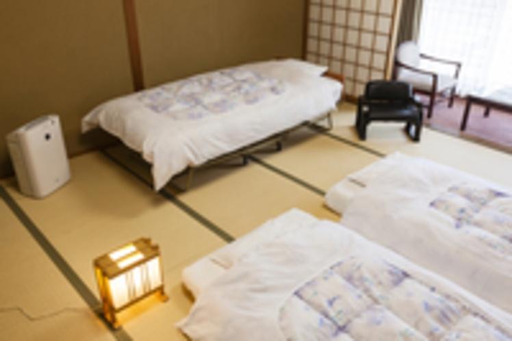 和室と簡易ベッド