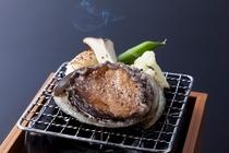 おすすめ追加料理(アワビの踊り焼き)