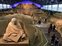 砂の美術館(第12期展示・南アジア編)