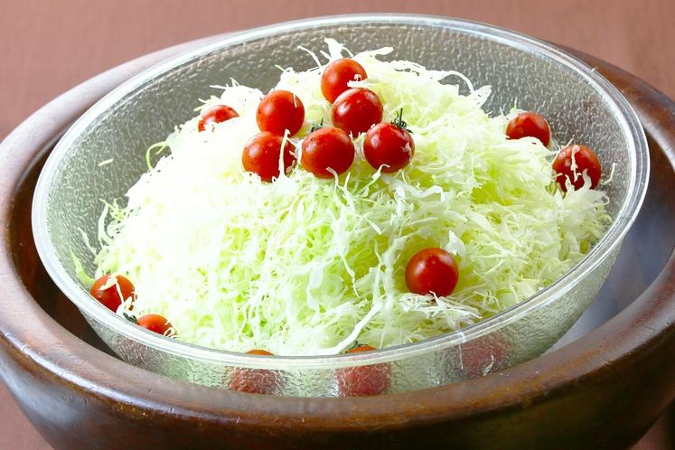 無料朝食~おふくろの味 サラダ