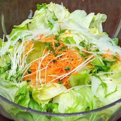 【朝食】野菜サラダ
