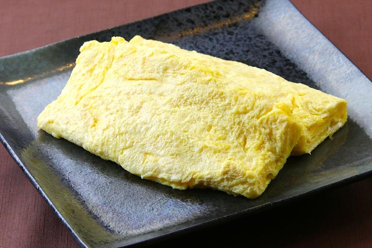 無料朝食~ライブキッチン 卵焼き2