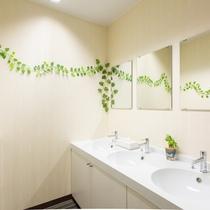 【カプセルルーム】共有洗面所