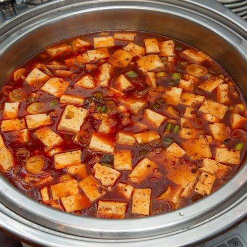 【朝食】麻婆豆腐