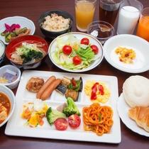 【朝食】朝食一例(2)