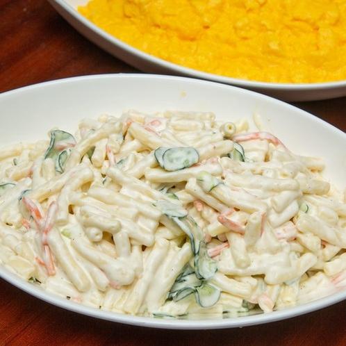 【朝食】マカロニサラダ
