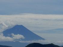 夏色の富士山